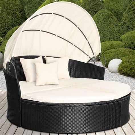 sun gartenmöbel rattan rattan daybed sun canopy lounger garden furniture set