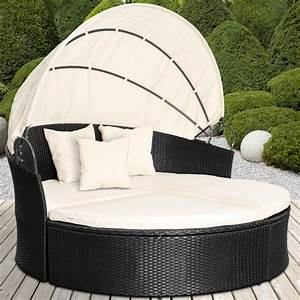 rattan daybed sun canopy lounger garden furniture set With katzennetz balkon mit garden furniture sale uk