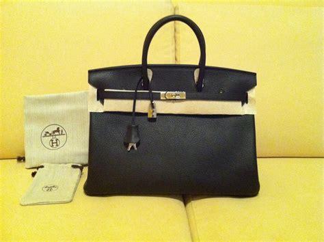 Authentic Hermes Birkin 40cm Bag In Togo Black ,900