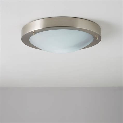 Portal Brushed Chrome Ceiling Light Theteenlineorg