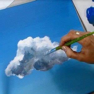 ac12 peindre des nuages a l39acrylique acrylique With peindre l eau a l acrylique