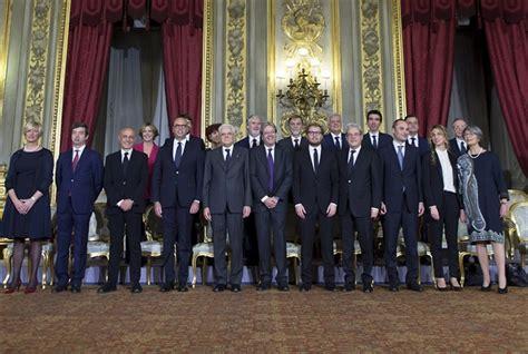 Governo Italiano Presidenza Consiglio Dei Ministri by Giuramento Consiglio Dei Ministri Della Repubblica