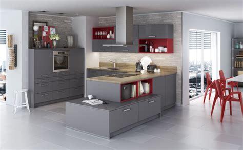 graue küche mit holzarbeitsplatte 75175 k 252 chen in u form vor und nachteile tipps f 252 r die k 252 chenplanung k 252 chenfinder