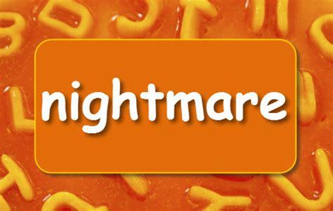 nightmare learnenglish kids british council