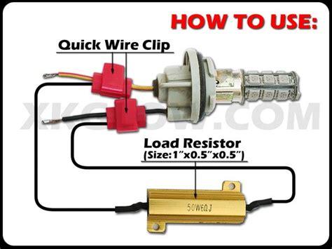 6 Ohm 50w Load Resistors Turn Signal Blinker Fix Vs