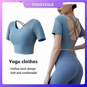 2020 bra sport wanita shockproof warna polos untuk lari