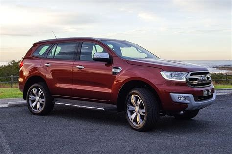 Ford Titanium 2017 by Ford Everest Titanium 2017 Review Carsguide