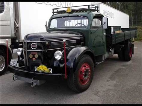 old volvo trucks classic volvo trucks youtube