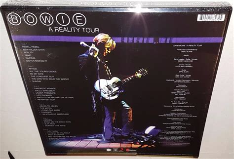David Bowie A Reality Tour (2016 Release) Brand New Sealed
