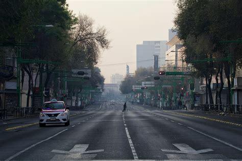 chilango enfotos las calles vacias de la ciudad este