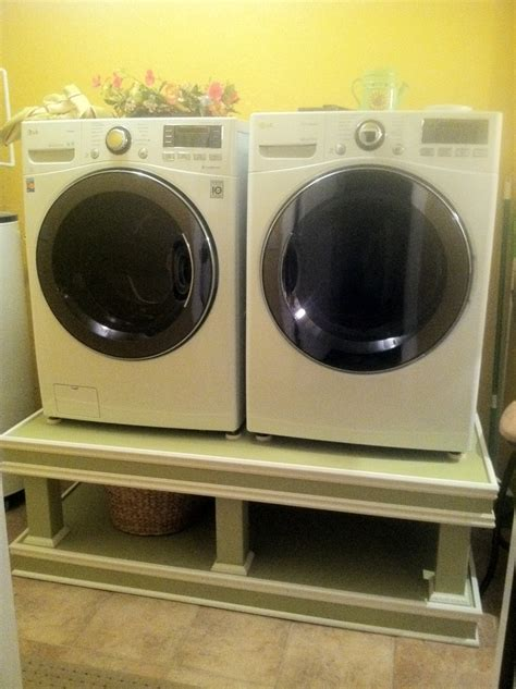 washer dryer pedestal diy diy washer dryer pedestal crafts diy