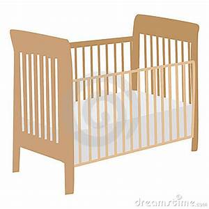 Girl Baby Crib Clipart - Clipart Suggest