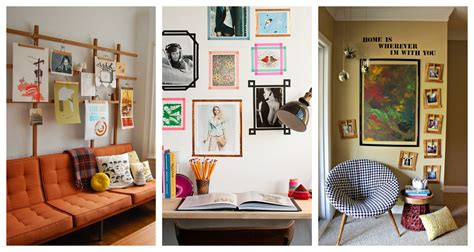 alternative framing ideas how to hang pictures without a
