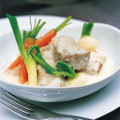 cuisine blanquette de veau recette blanquette de veau des familles cuisine madame