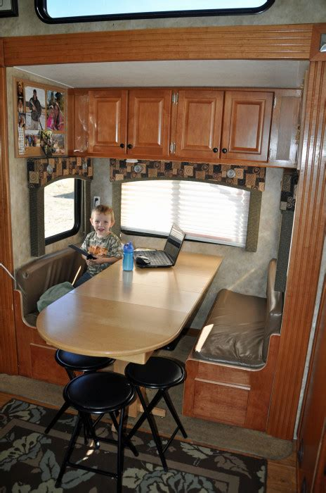 rv dining table replacement 89 folding dinette table for toy hauler building an