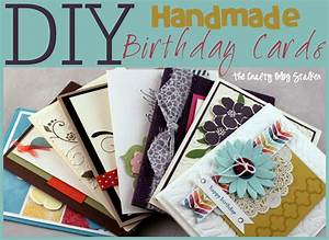 Handmade Birthday Card Ideas - The Crafty Blog Stalker