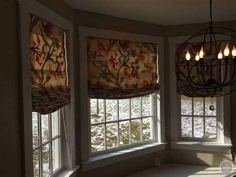 Roman Shades : Custom Relaxed Roman Shades