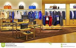 Men's Fashion Store Stock Photo - Image: 40554866