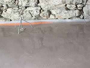 Temps De Sechage Chape : b ton all g au cellier 44 arti chape fluide arti ~ Melissatoandfro.com Idées de Décoration