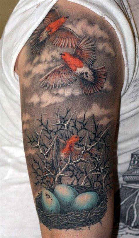 pin   sleeve tattoos designs  bird tattoo