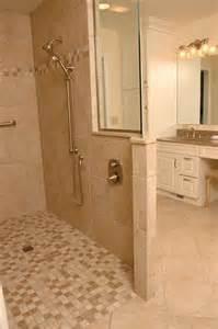 Bathroom Showers without Doors