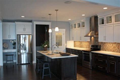 black   white upper kitchen cabinets remodeling