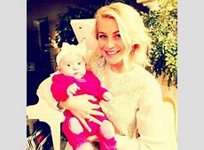Julianne Hough posed with a baby Cute Candids