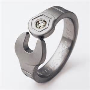 where to buy mens wedding band enfield 1 titanium ring with wrenches titanium wedding rings handcrafted by exotica jewelry