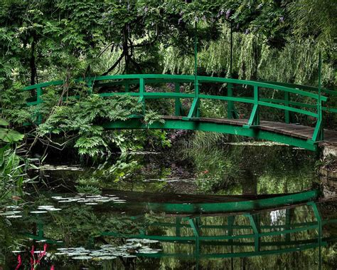 Jardin De Giverny Canvas by Maison Et Jardins De Claude Monet Giverny The Ark Of Grace
