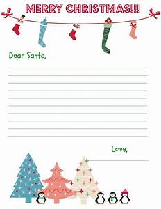 christmas stationary free printables sweet tea saving With stationary for letters to santa