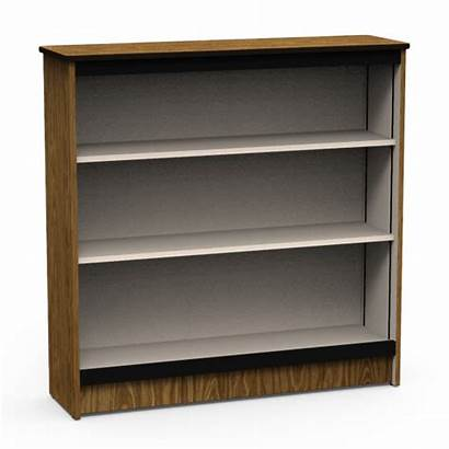 Bookcase Shelves Steel Frame Classroom Three Virco