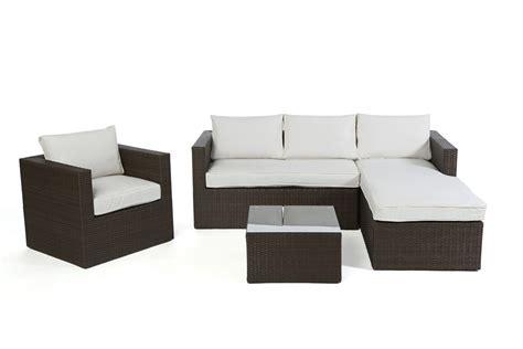 Rattan Lounge Brooklyn  Das Gartenmöbel Set Für Terrasse