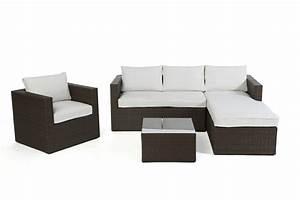 Rattan Lounge Set Braun : rattan lounge brooklyn das gartenm bel set f r terrasse und garten ~ Bigdaddyawards.com Haus und Dekorationen