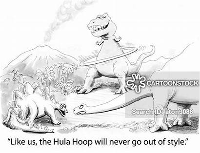 Hula Hoops Cartoon Funny Hoop Cartoonstock Animals
