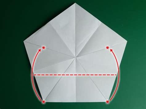 Fünfzackiger Falten by Folding 5 Pointed Origami Ornaments