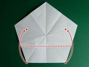 Origami Stern 5 Zacken : folding 5 pointed origami star christmas ornaments ~ Watch28wear.com Haus und Dekorationen