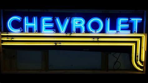 Chevrolet Neon Sign Sspn 4ftx9ft