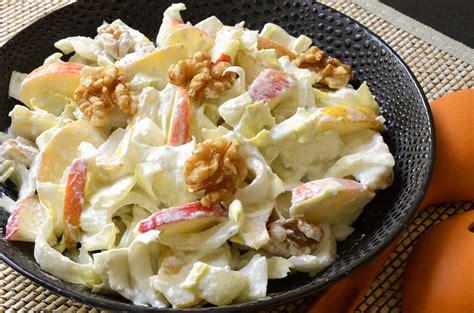 salade dendives sauce au roquefort ma cuisine sante