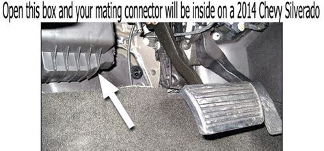 Where Mating Connector Located For Wiring Harness