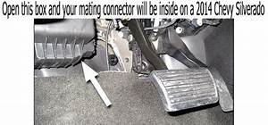Where Is Mating Connector Located For Wiring Harness