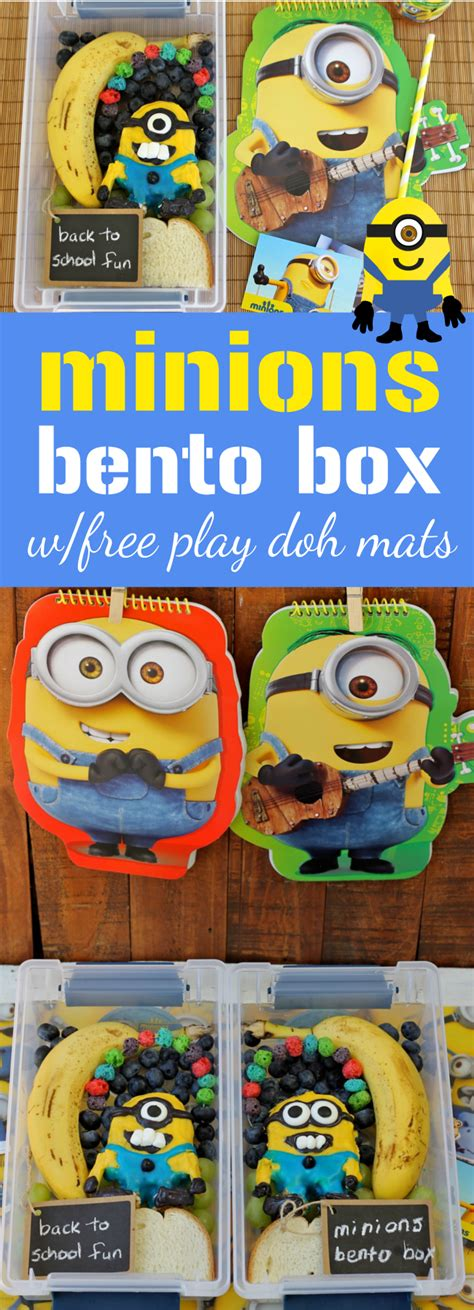 5 Fruit Activities For Families Happy And Blessed Home Free Minions Play Doh Mats And Minions Bento Box Tutorial