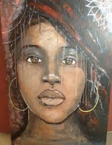 Black Strong African Women Art