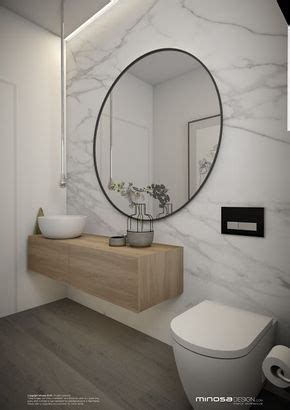 Minosa Design: Powder Room Or maybe idea for den bath