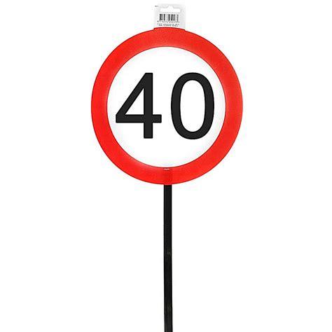 Auf der nächste seite finden sie auch sprüche, zitate, gedichte und verse zum 60. Schild 40 mit Stab zum 40. Geburtstag