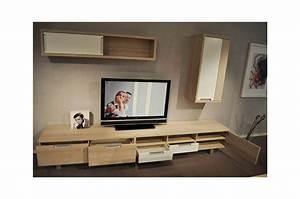 composition de meuble tv et buffet trendymobiliercom With meubles de rangement salon 2 tables chaises claustras buffet meuble de rangement