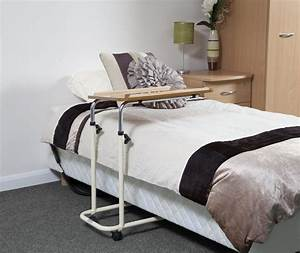Overbed Table - Height And Angle Adjustable