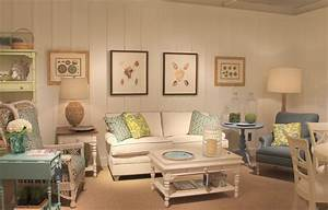 Coastal Living Cottage Accents - Tropical - Family Room