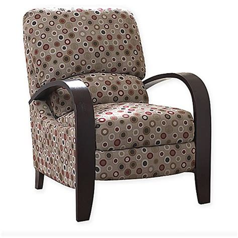 bent arm recliner park archdale bent arm recliner bed bath beyond