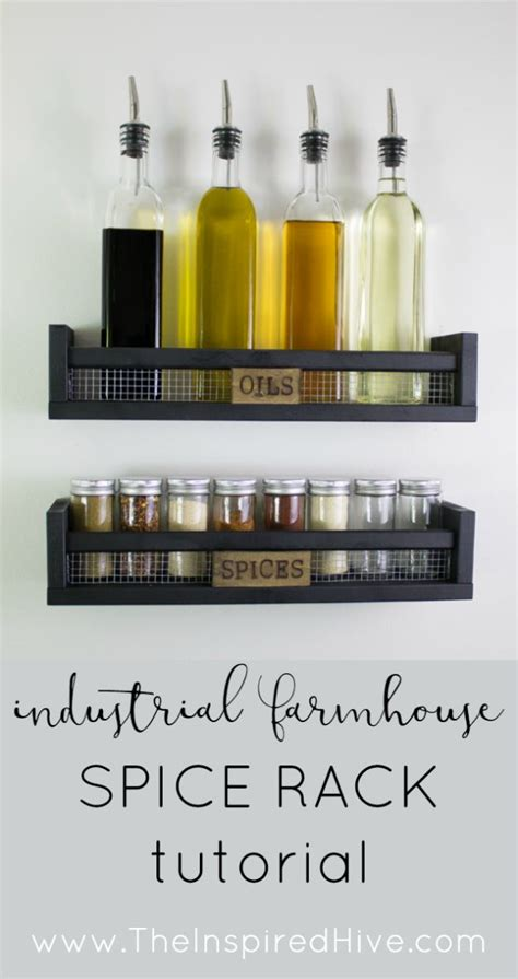 Ikea Wall Spice Rack by Best 25 Wall Mounted Spice Rack Ideas On How