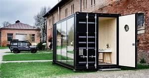 Container Anbau An Haus : hiloft is a movable shipping container mancave insidehook ~ Indierocktalk.com Haus und Dekorationen